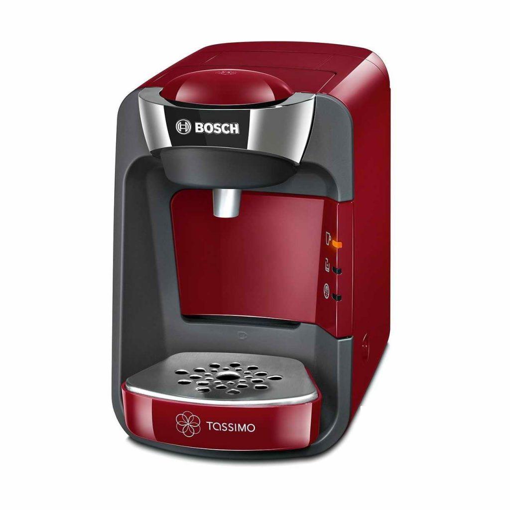 bosch tassimo t32 suny coffee pod machine red tas3203gb. Black Bedroom Furniture Sets. Home Design Ideas