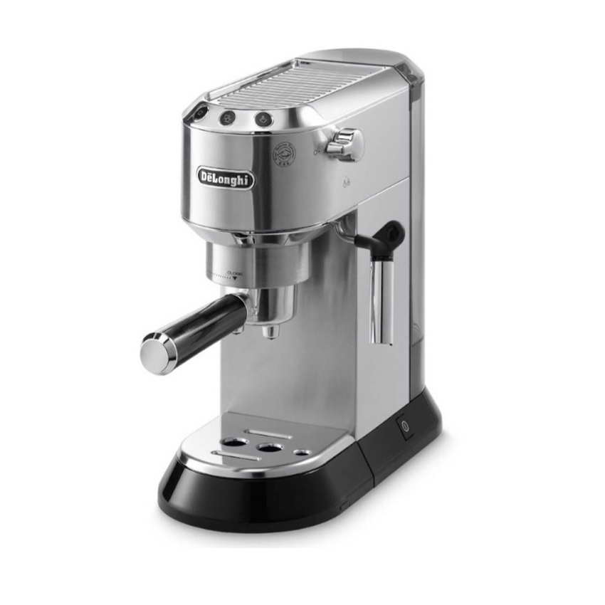 DeLonghi EC680M Dedica Espresso And Cappuccino 15 Bar Pump Coffee Machine Stainless Steel ...