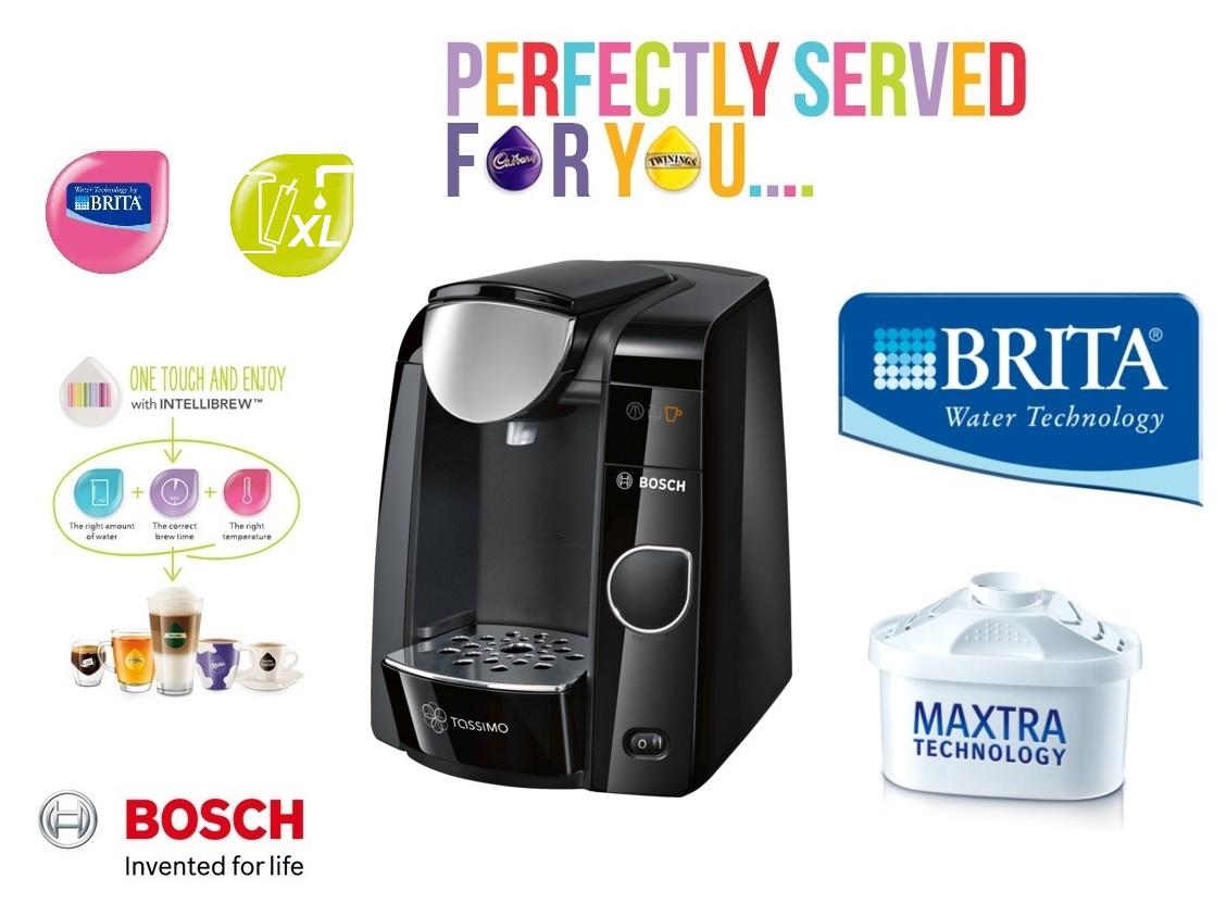 bosch tassimo joy 2 t45 multi drinks pod machine black tas4502gb around the clock offers. Black Bedroom Furniture Sets. Home Design Ideas