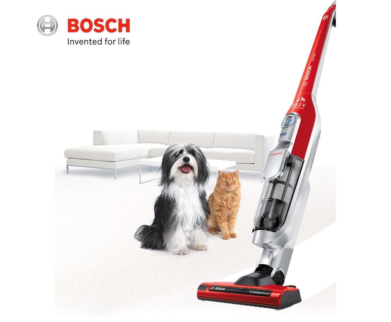 Bosch Athlet Animal Pro Cordless Upright Vacuum Cleaner