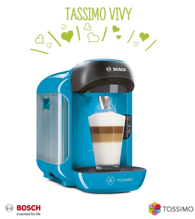bosch tassimo vivy ii t12 multi drinks pod coffee machine. Black Bedroom Furniture Sets. Home Design Ideas