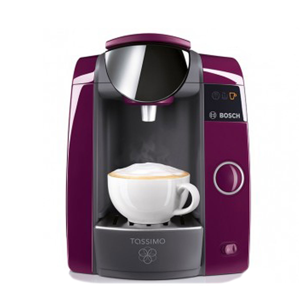 bosch tassimo joy t43 purple coffee machine tas4301gb around the clock offers. Black Bedroom Furniture Sets. Home Design Ideas