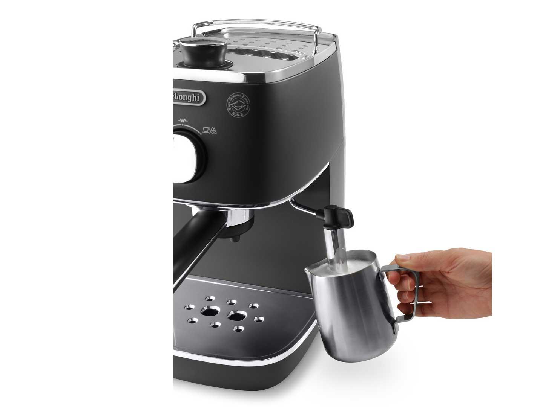 Delonghi Distinta Espresso Amp Cappuccino Machine Black