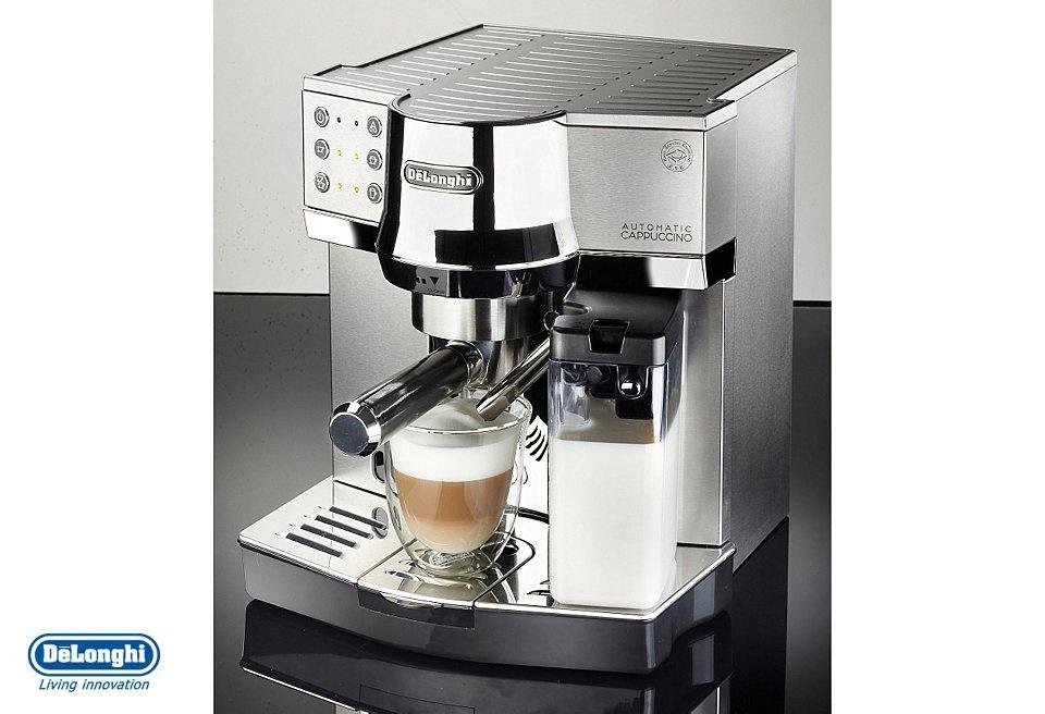 delonghi ec860 m automatic espresso and cappuccino coffee. Black Bedroom Furniture Sets. Home Design Ideas