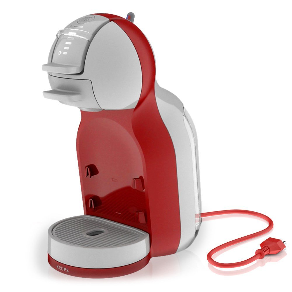 krups nescafe dolce gusto mini me kp120540 automatic play select red and arctic grey around. Black Bedroom Furniture Sets. Home Design Ideas