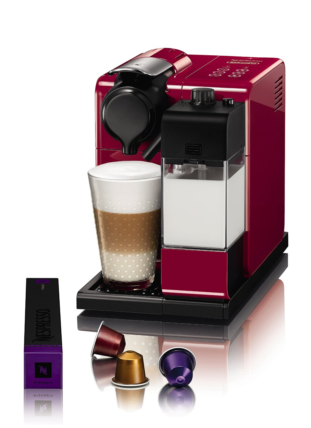 DeLonghi Nespresso Latissimo Touch Automatic Coffee ...