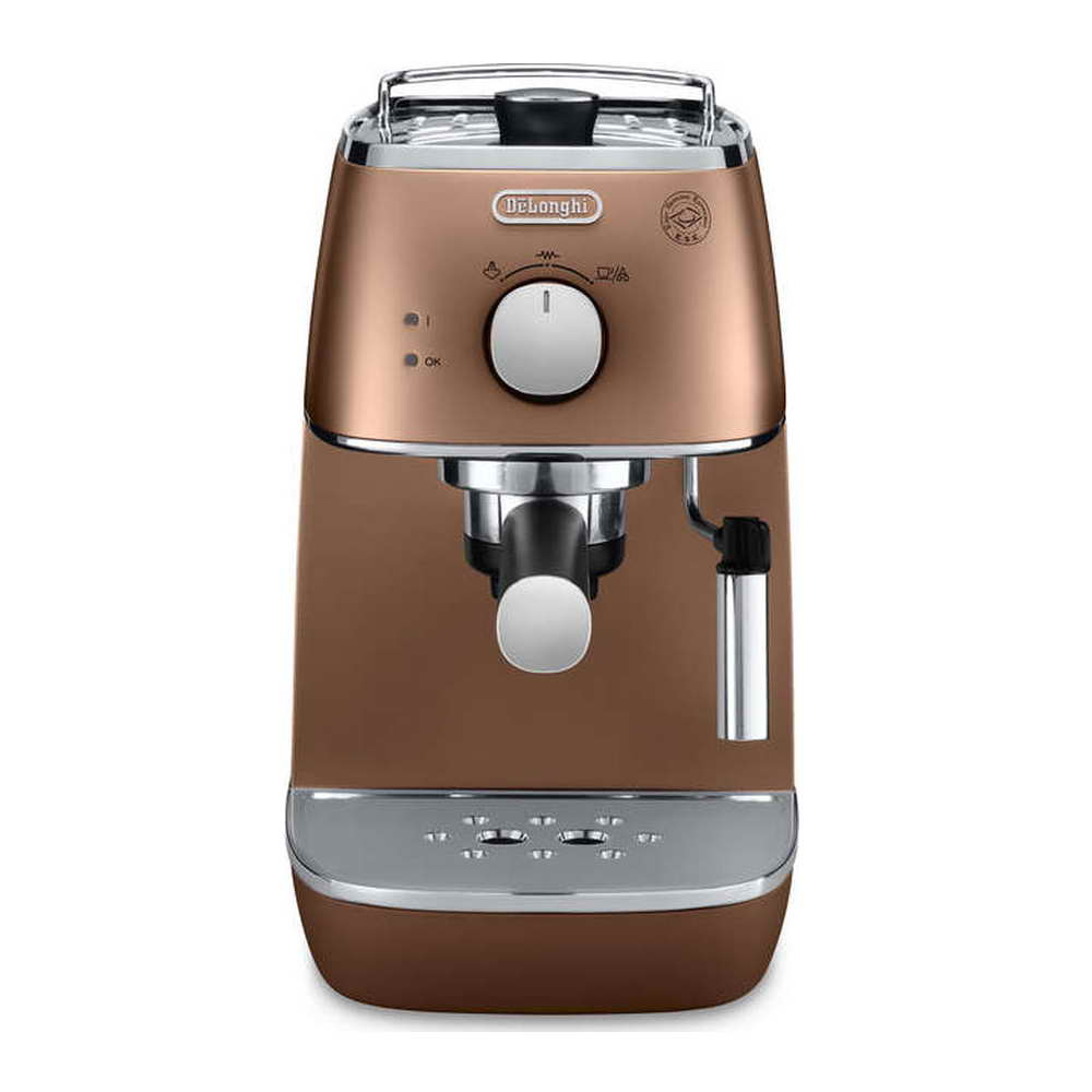 delonghi distinta espresso cappuccino machine eci341cp around the clock offers. Black Bedroom Furniture Sets. Home Design Ideas