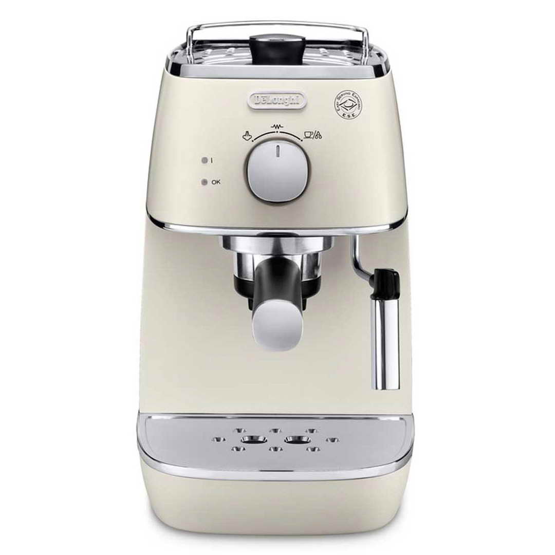 delonghi distinta espresso cappuccino machine white eci341w around the clock offers. Black Bedroom Furniture Sets. Home Design Ideas