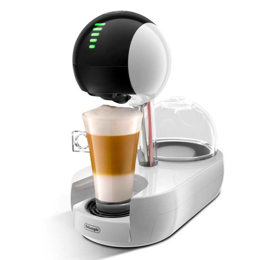delonghi dolce gusto stelia pod coffee machine white edg635w around the clock offers. Black Bedroom Furniture Sets. Home Design Ideas