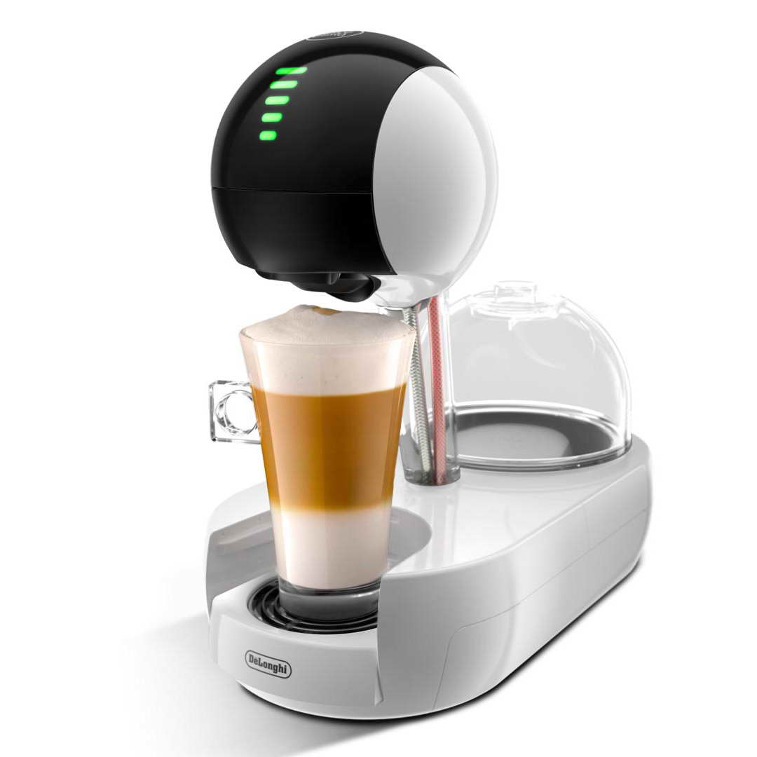 delonghi dolce gusto stelia pod coffee machine white edg635w around the clock offers. Black Bedroom Furniture Sets. Home Design Ideas