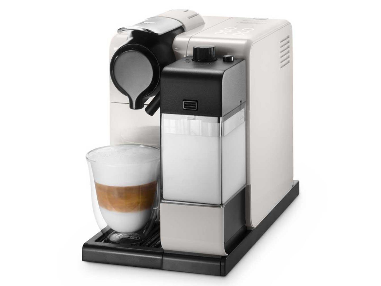 delonghi nespresso latissima touch automatic coffee machine en550w snow white around the clock. Black Bedroom Furniture Sets. Home Design Ideas