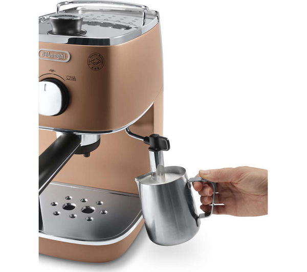 Delonghi Coffee Maker Ec7 : DeLonghi Distinta Espresso & Cappuccino Machine ECI341CP Around The Clock Offers