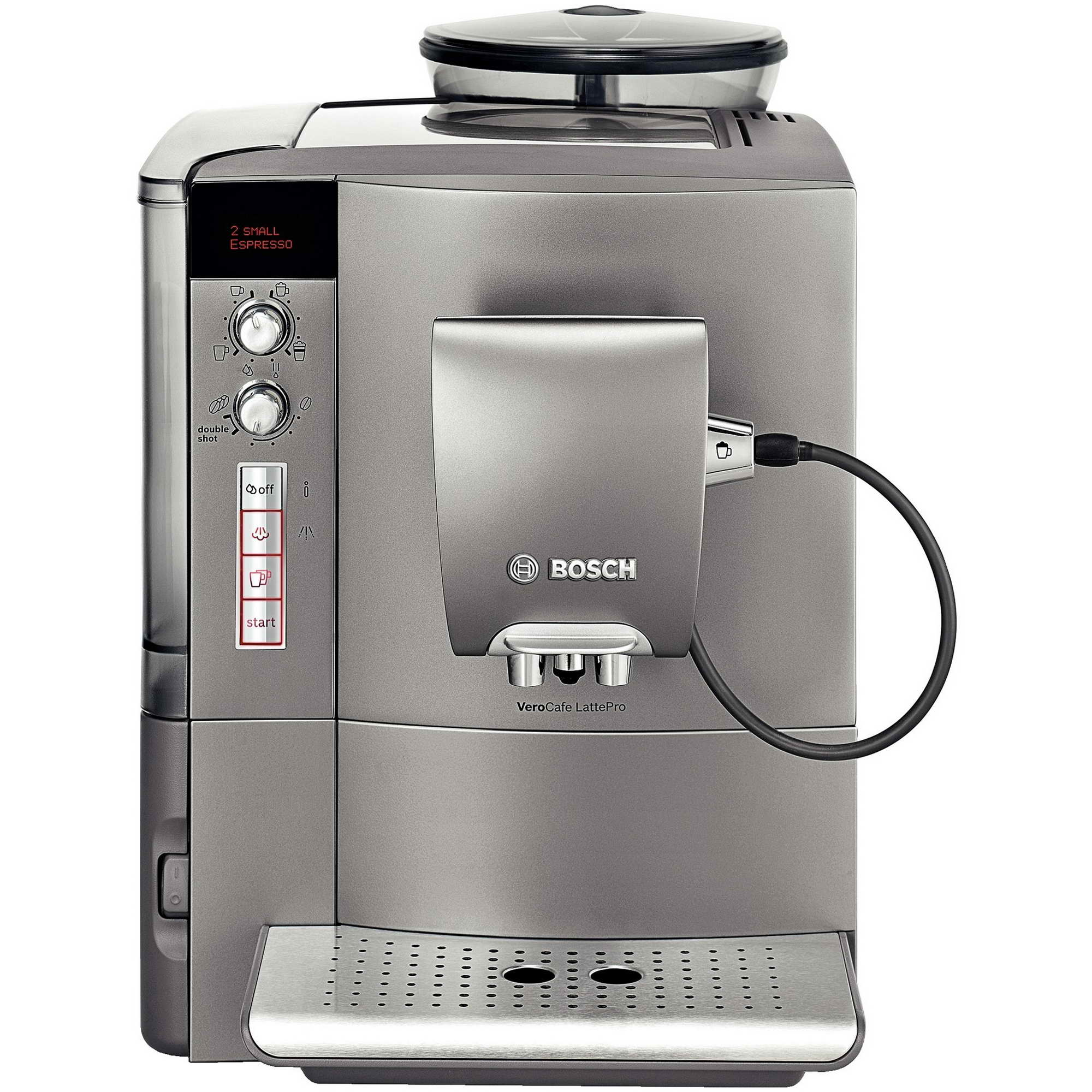 bosch verocafe bean to cup fully automatic coffee machine milk frother tes50621rw around the. Black Bedroom Furniture Sets. Home Design Ideas