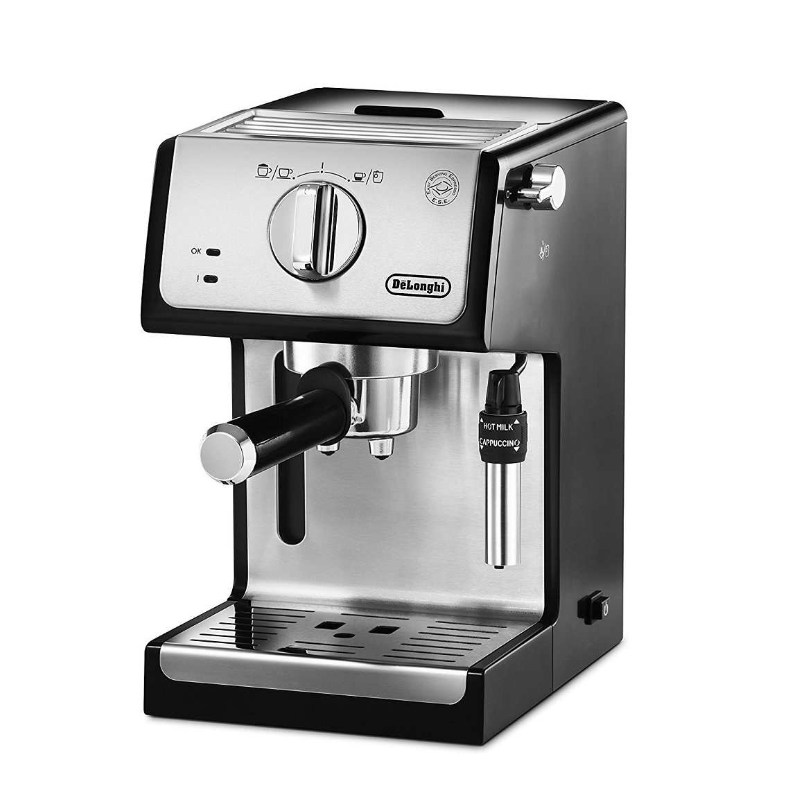 DeLonghi Traditional Pump Espresso & Cappuccino Coffee