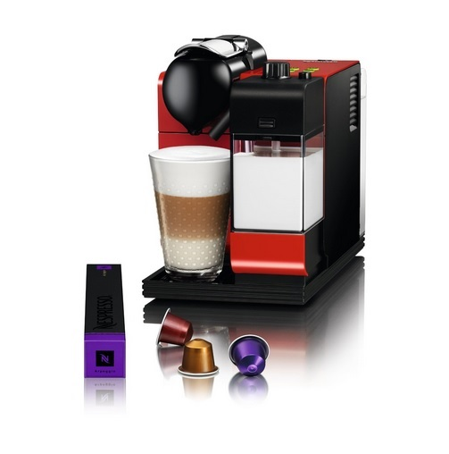 Delonghi En520r Nespresso Lattissima Plus Capsule Machine