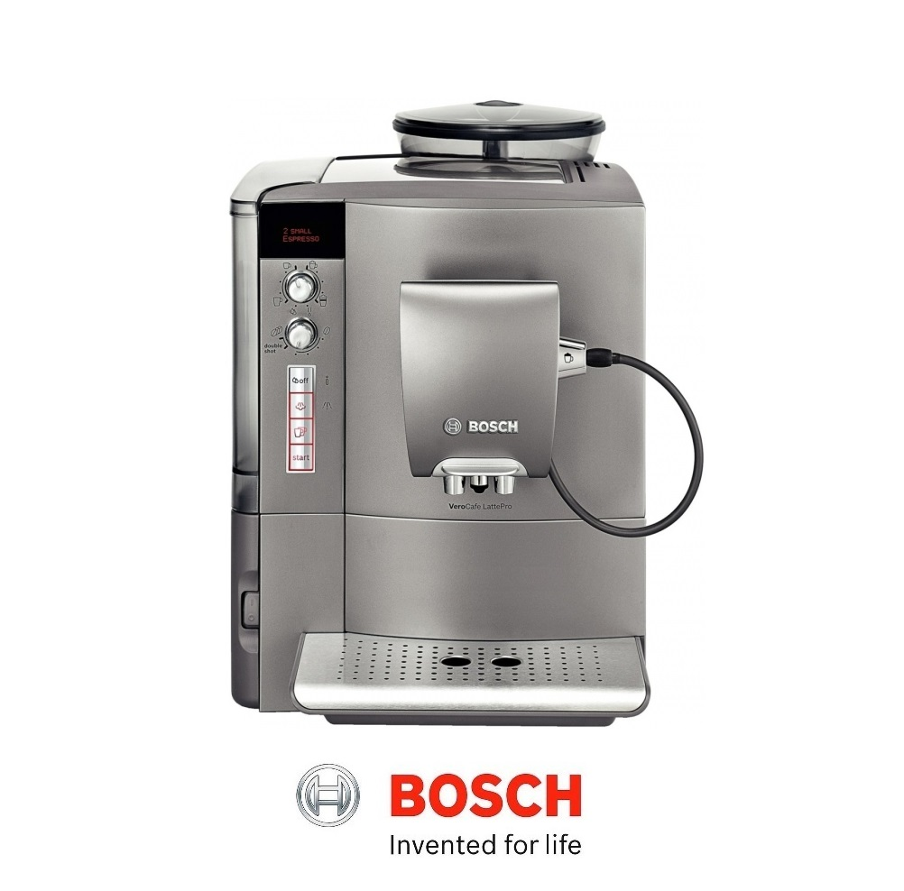 Bosch Automatic Coffee Maker : Bosch VeroCafe Bean To Cup Fully Automatic Coffee Machine & Milk Frother TES50621RW Around The ...