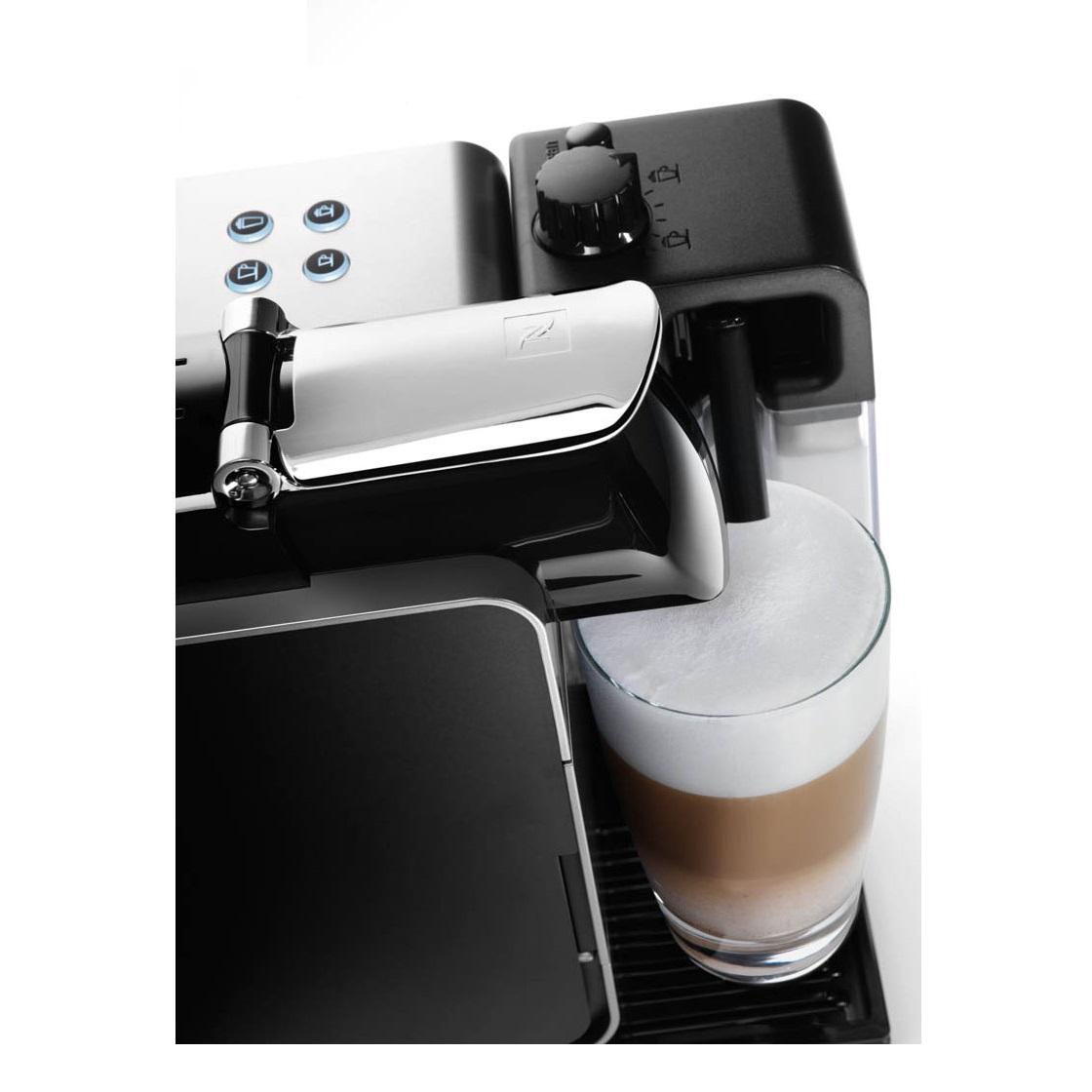 DeLonghi Nespresso Lattissima Plus EN520.W Capsules Machine White Around The Clock Offers