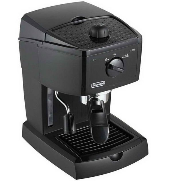DeLonghi EC146B Traditional Pump Espresso Machine Black 02