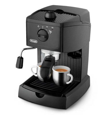 DeLonghi EC146B Traditional Pump Espresso Machine Black