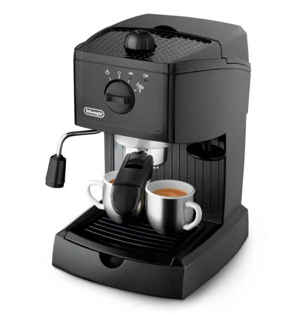DeLonghi EC146B Traditional Pump Espresso Machine Black