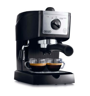 DeLonghi EC156B Traditional Pump Espresso Machine Black
