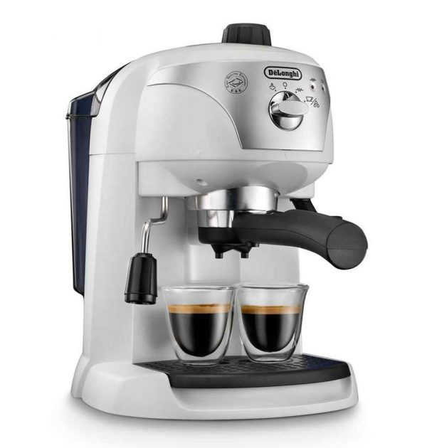 DeLonghi ECC221W Motivo Espresso and Cappuccino Machine White