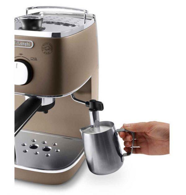 DeLonghi ECI341BZ Distinta Espresso Cappuccino Machine Bronze 02