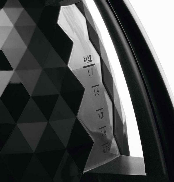 DeLonghi KBJ3001BK Brillante Diamond Jug Kettle Black 02