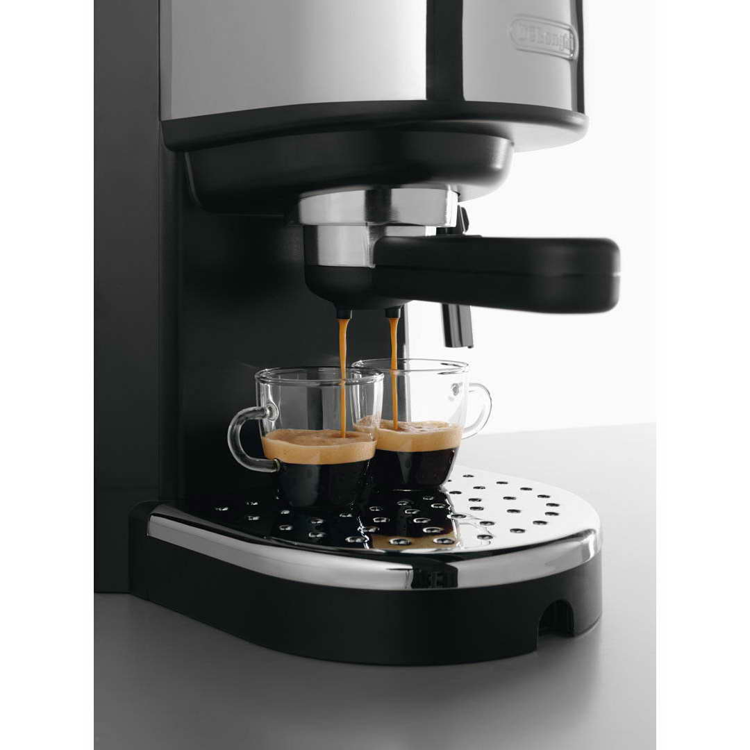 Coffee Cappuccino Maker ~ Delonghi ec b pump espresso cappuccino coffee machine