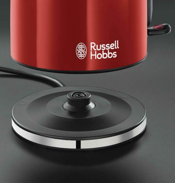 Russell Hobbs 20412 Colours Plus Cordless Jug Kettle Red 4
