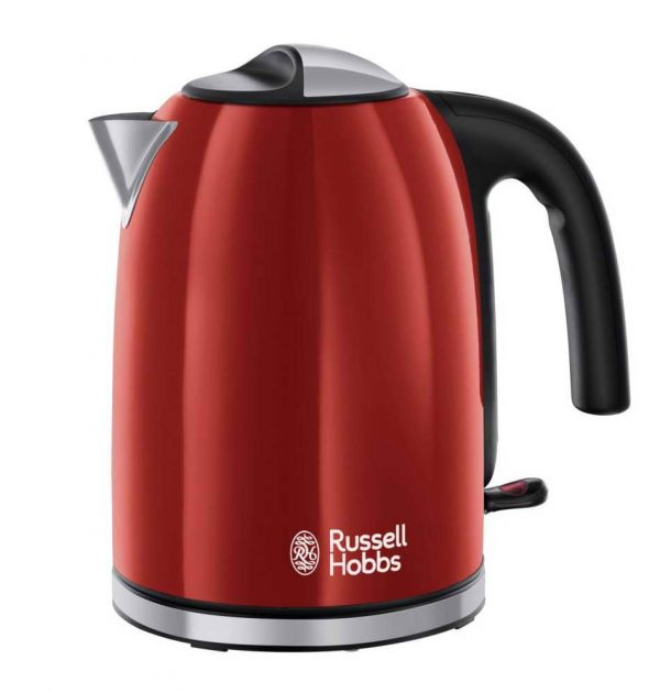 Russell Hobbs 20412 Colours Plus Cordless Jug Kettle Red