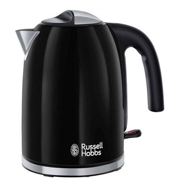 Russell Hobbs 20413 Colours Plus Cordless Jug Kettle Black