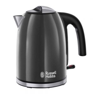 Russell Hobbs 20414 Colours Plus Cordless Jug Kettle Grey