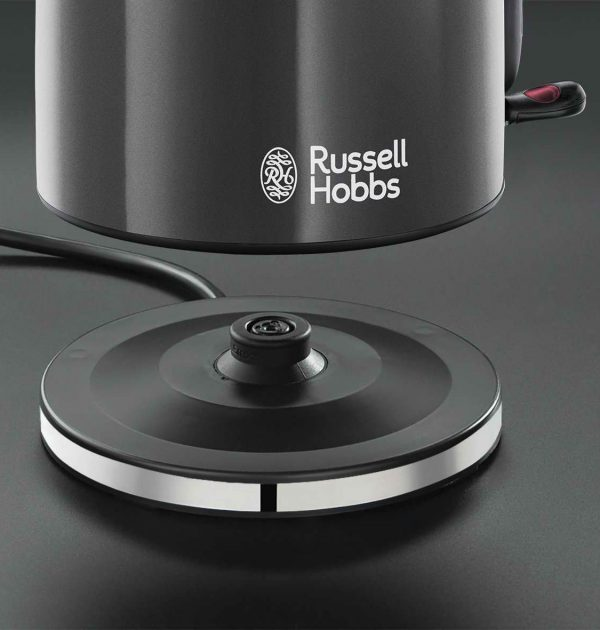 Russell Hobbs 20414 Colours Plus Cordless Jug Kettle Grey 5