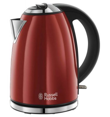Russell Hobbs 23602 Henley Rapid Boil Electric Kettle Red 1