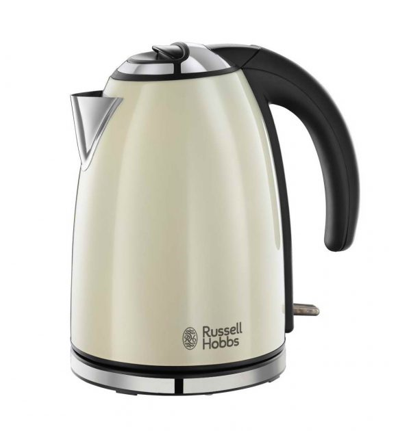 Russell Hobbs 23604 Henley Rapid Boil Electric Kettle Cream