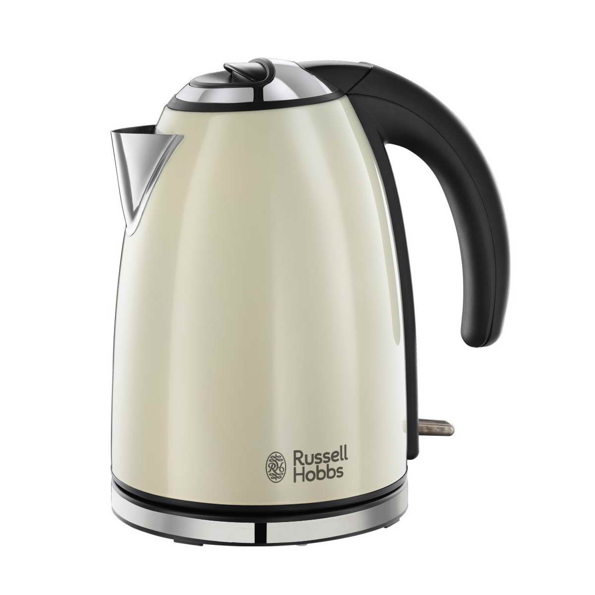 russell hobbs 23604 henley rapid boil electric kettle cream around the clock offers. Black Bedroom Furniture Sets. Home Design Ideas