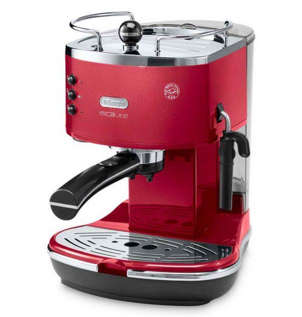 DeLonghi-ECOM311R-MicaLite-Icona-Espresso-Cappuccino-Machine-Red