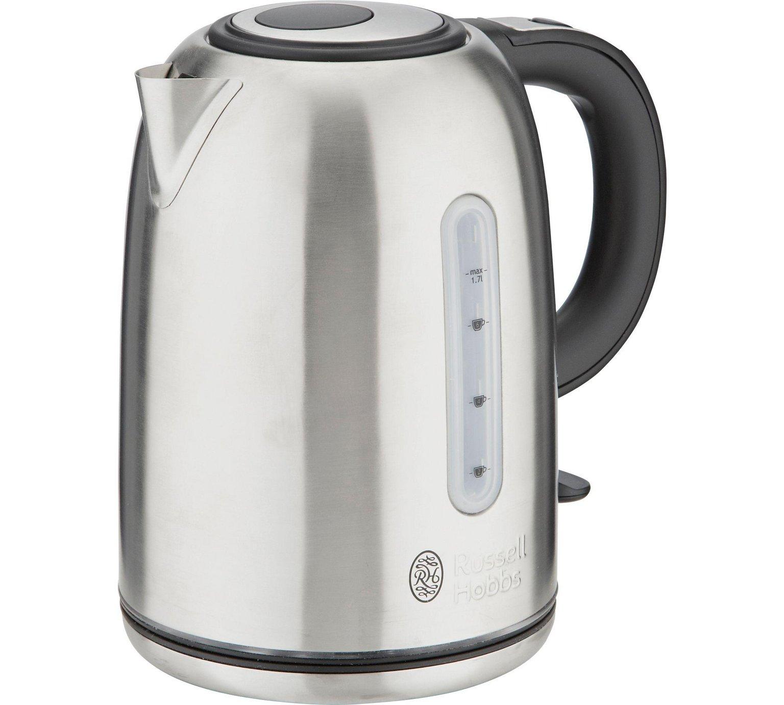 russell hobbs 20460 buckingham kettle stainless steel. Black Bedroom Furniture Sets. Home Design Ideas