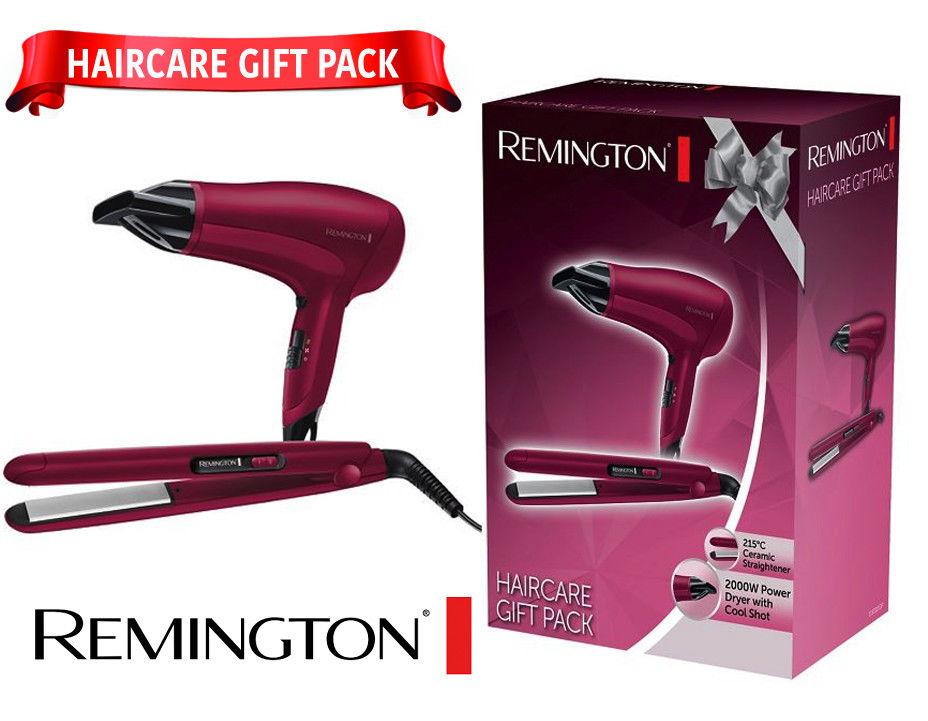 Remington D3010GP Hair Dryer and Ceramic Hair Straightener