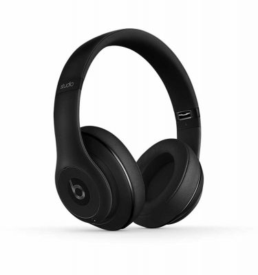 Beats by Dre Studio 2.0 Wireless Matte Black Over The Ear Headphones