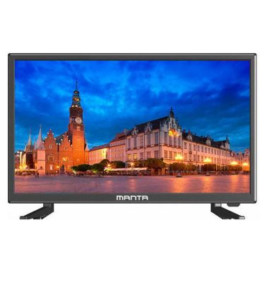 Manta LED220Q7 22in HDR Digital Freeview TV 12Volt 240V