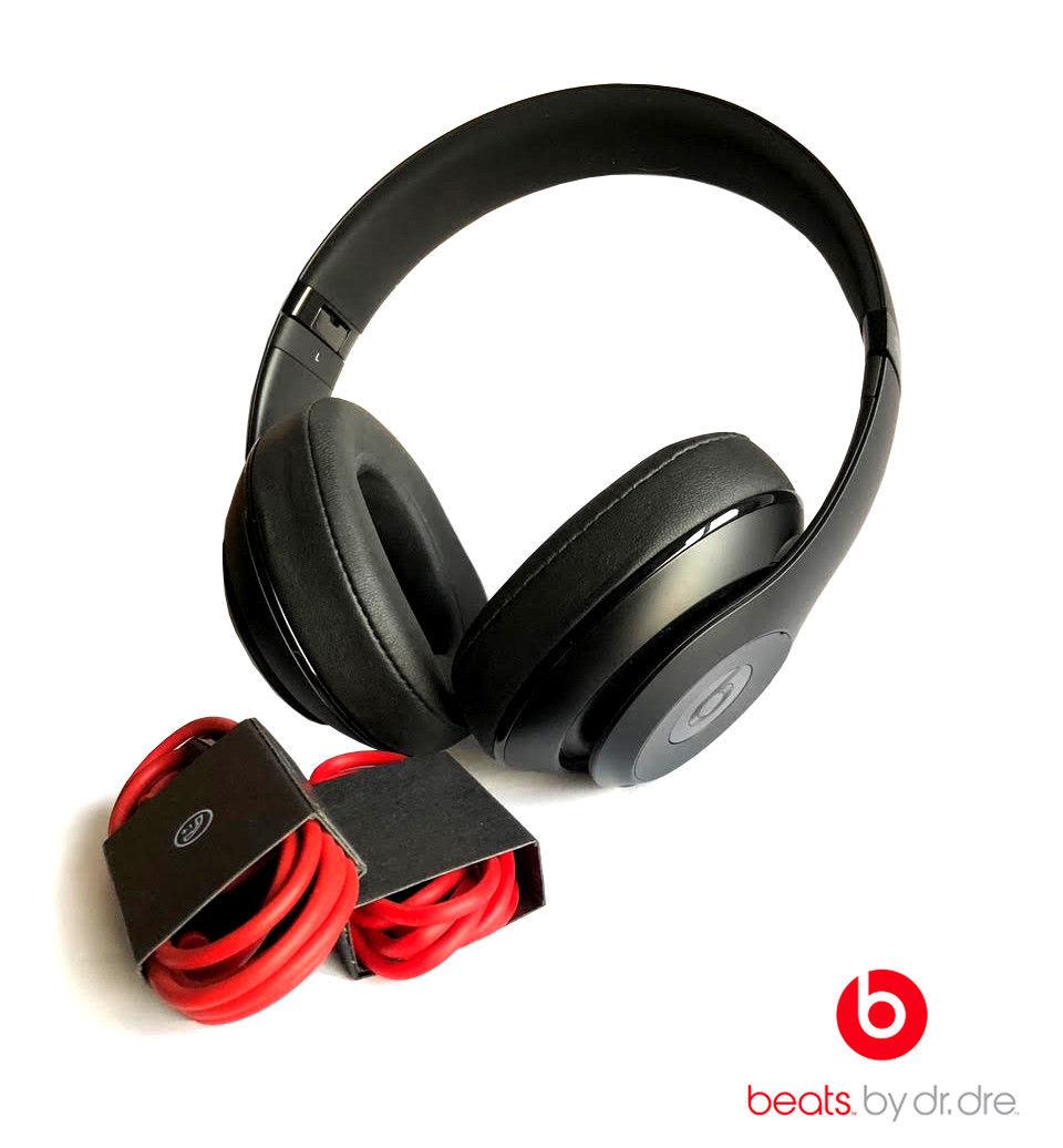 Beats by Dre Studio 2.0 Wireless Matte Black Over The Ear Headphones ...